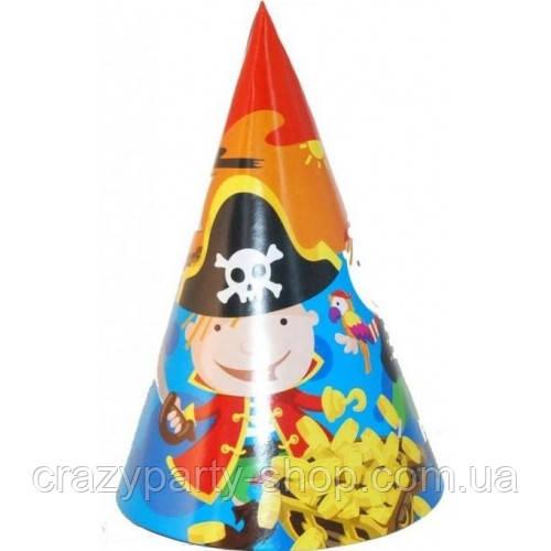 Колпачок  карнавальный праздничный Пират