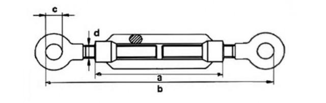 Талреп М22 DIN 1480 тип кольцо-кольцо - купить