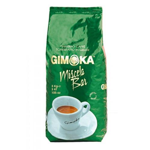 Кофе в зернах Gimoka Miscela Bar 3кг, Италия Оригинал (Джимока)