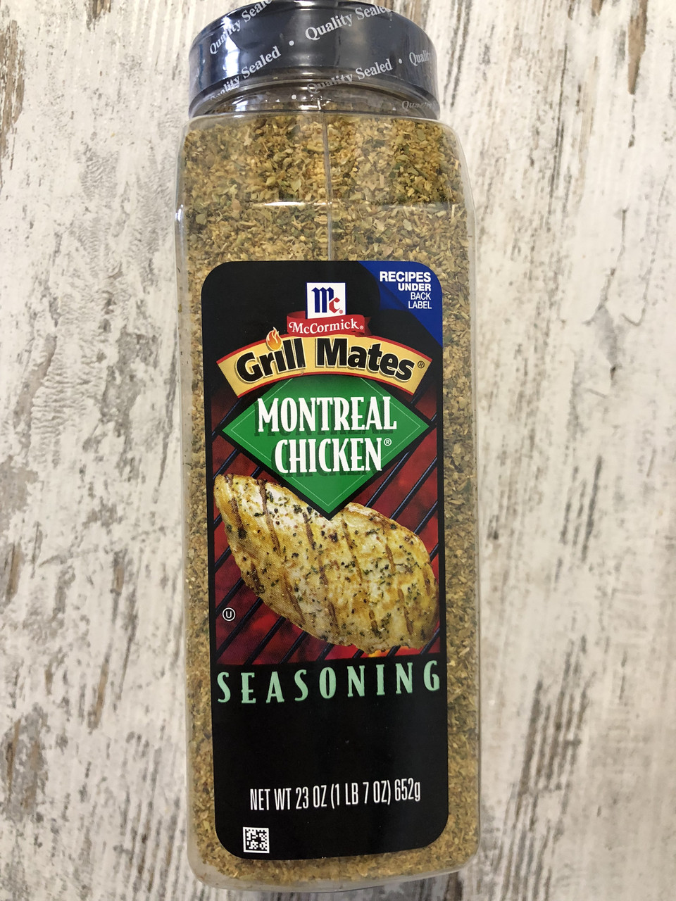 Приправа для курицы  McCormick Grill Mates Montreal Chicken Seasoning, 652грамм
