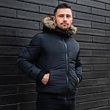 Мужская куртка с мехом., фото 4