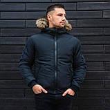 Чоловіча куртка з хутром., фото 2