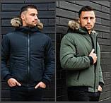 Мужская куртка с мехом., фото 3