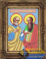 Схема иконы для вышивки бисером - Петр и Павел Святые апостолы, Арт. ИБ5-126-1