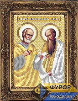 Схема иконы для вышивки бисером - Петр и Павел Святые апостолы, Арт. ИБ5-126-2