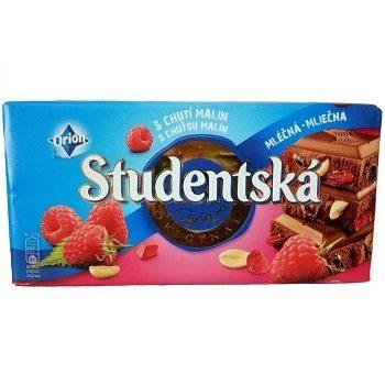 Studentska pecet = молочный шоколад _Студенческая печать (малина+желе+арахис) 180г