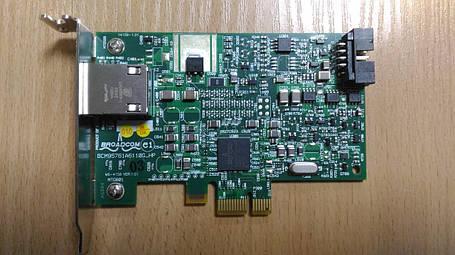 FS215AA Сетевая Карта HP [Broadcom] Netxtreme Gigabit Adapter BCM95761A6110G-HP , фото 2