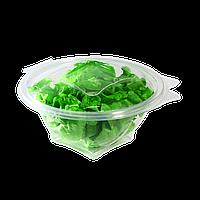 Салатник пластиковый с крышкой 500мл  FT717-500, 25шт