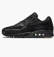 e6b6d952 Мужские кроссовки Nike Air Max 90 Premium Black 700155-012, оригинал
