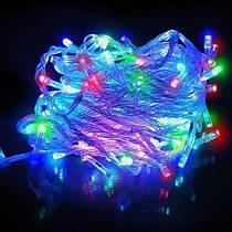 Гирлянда светодиодная 100 L RGB 8 метров