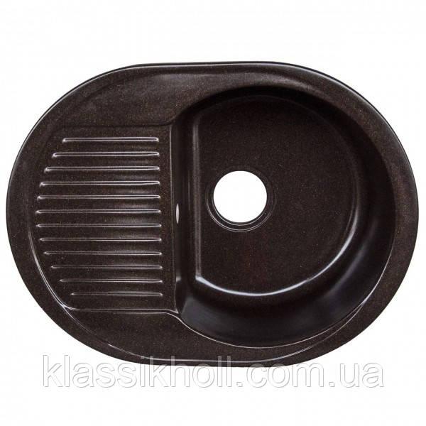 Кухонная Мойка Platinum 6247 Шоколад