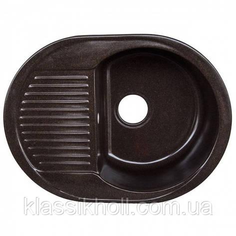 Кухонная Мойка Platinum 6247 Шоколад , фото 2