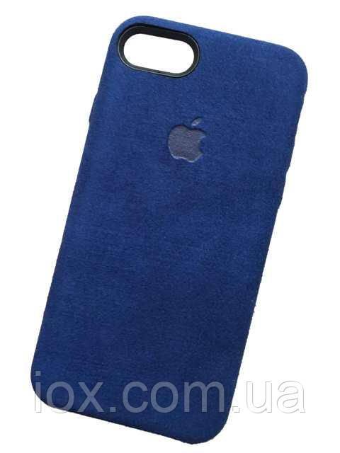Замшевий чохол-накладка Alcantara case для iPhone 7/ 8 iPhone