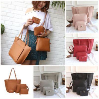 Стильний набір жіночих сумок 4в1