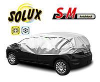 Чехол-тент для автомобиля SOLUX, размер S-M Hatchback