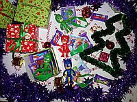 Новогодний подарок Sundy Box X сладкий с игрушкой Герои в масках, фото 1