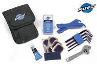 Набор инструментов Park Tool (шестигран., борт. лопатки, латки, отвер. щлиц., разводн. ключ)