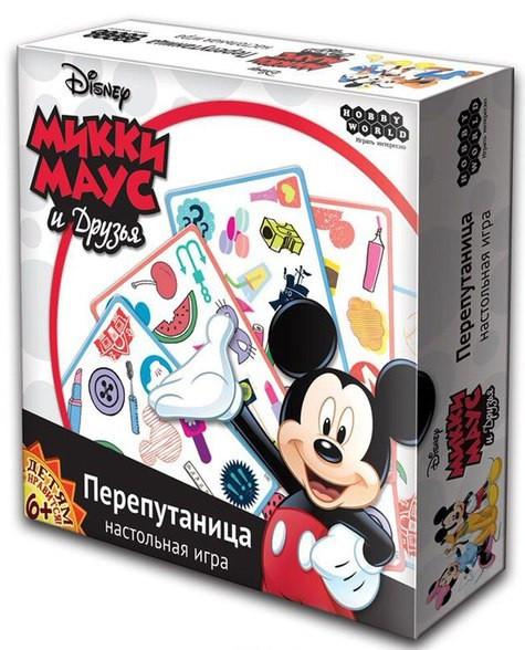 Настольная игра Микки Маус и друзья: Перепутаница