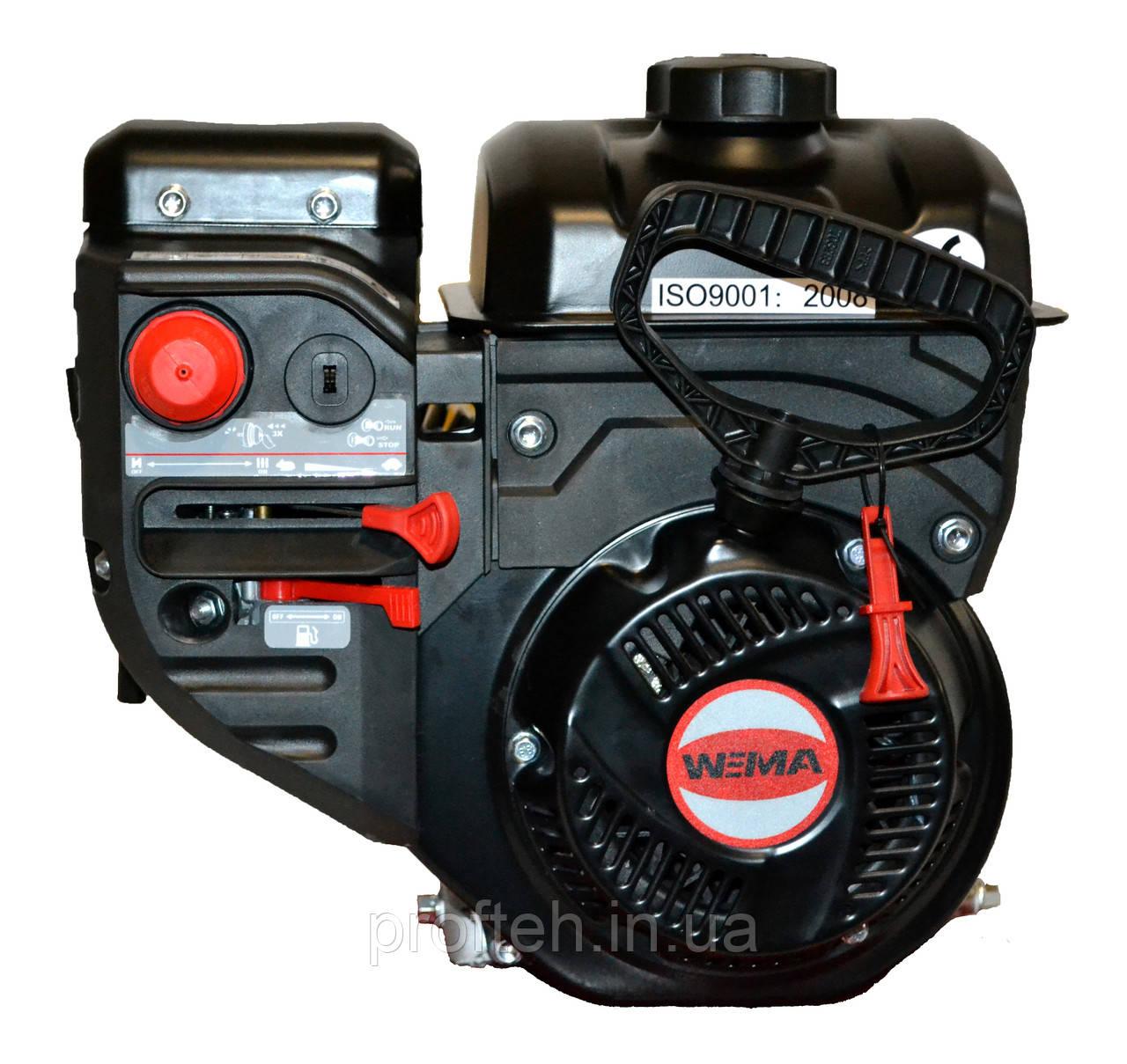 Двигатель бензиновый WEIMA W210FS (5,5 л.с., шпонка Ø19мм, Q3, для снегоуборщиков)