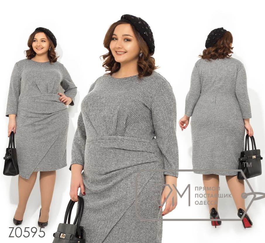 230285d3e6e Платье батальное недорого интернет-магазин сайт женской одежды модна каста  р. 56-62