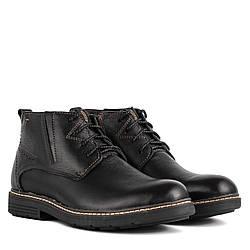 Ботинки мужские DanShoes (удобные, кожаные, модные, на шнурках)