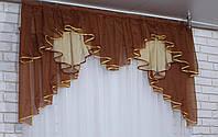 Ламбрекен на карниз 1.5м.модель №93 , фото 1