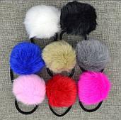Меховая резинка на голову(цвета в ассортименте)