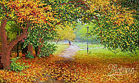 Схема для вышивки бисером Осенний парк РКП-078