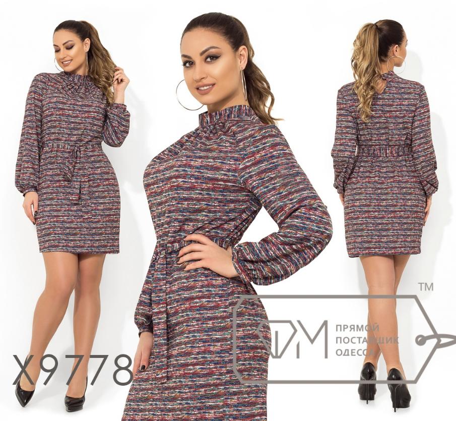 9611486178a Платье батальное недорого интернет-магазин сайт женской одежды модна каста  р. 48-54