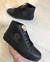 Кроссовки камуфляжные мужские зимние Versace (реплика)