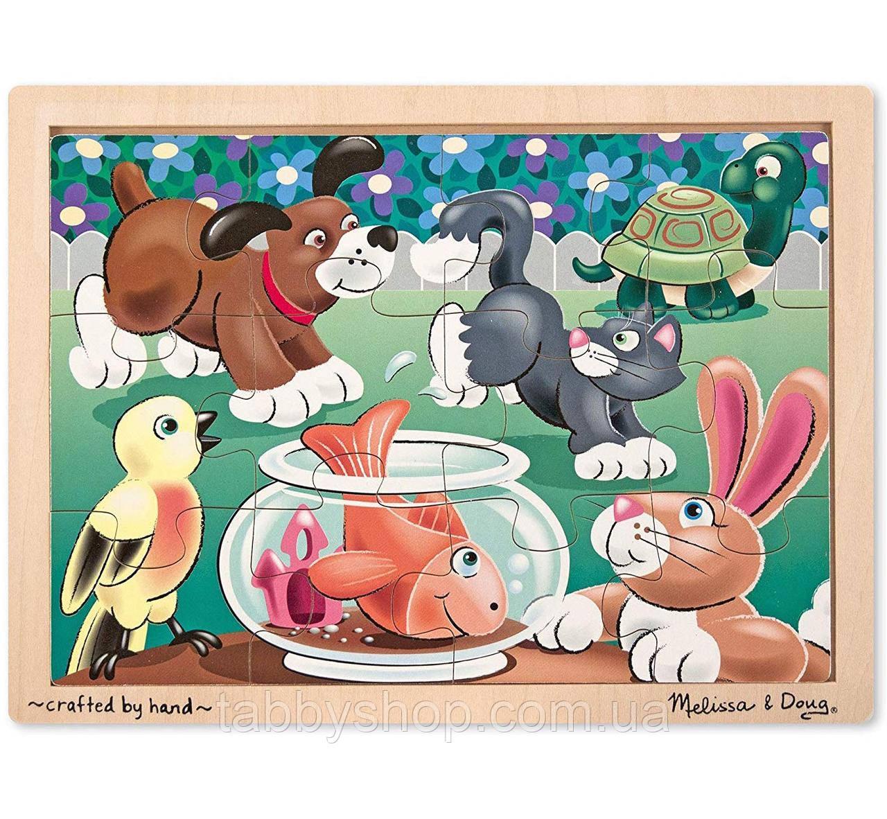 """Пазл начального уровня Melissa & Doug """"Домашние животные"""""""