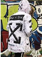 Мужская зимняя куртка в стиле Off-White | Топовое качество!!