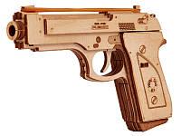 Дерев'яний Конструктор Пістолет. Wood trick пазл. 100% ГАРАНТІЯ ЯКОСТІ (Опт,дропшиппинг), фото 1
