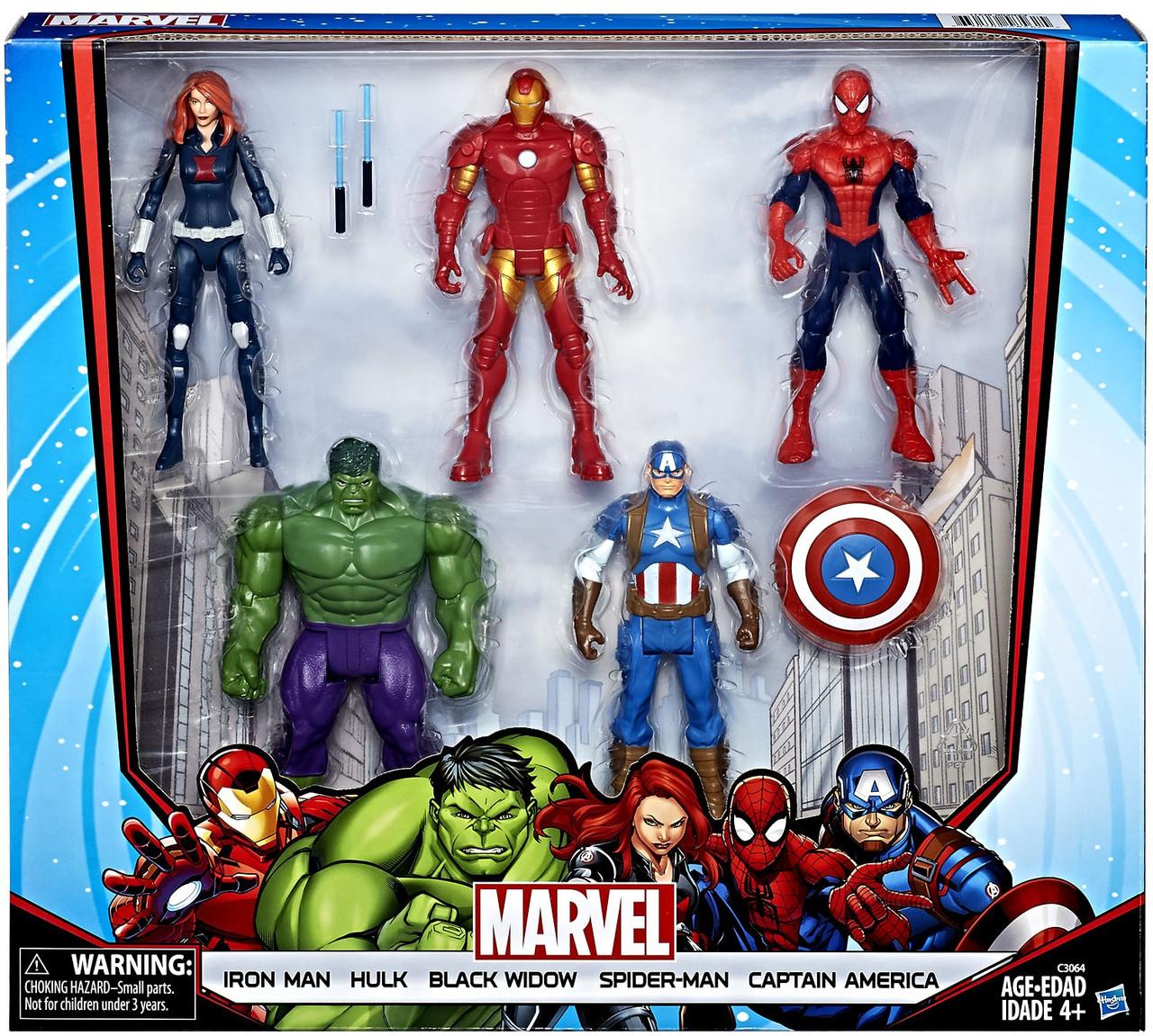 МСТИТЕЛИ подарочный набор фигурок Хасбро / Avengers Marvel Hasbro