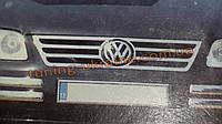 Хром накладки на решетку для Volkswagen Caddy 3 2004-2010