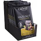 Бельгийский черный шоколад Cachet Hazelnut, 300г  с цельным орехом фундук, фото 3