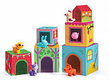 DJECO Игра Топанимо ферма 6 кубиков+6 животных, Topanifarm, фото 2
