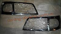 Хром накладки на фары для Volkswagen Caddy 3 2004-2010