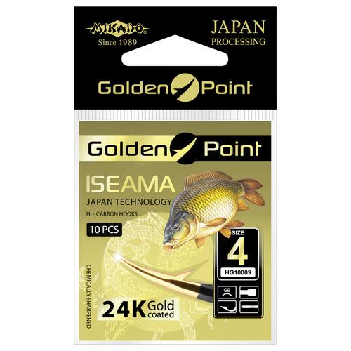 Крючок Mikado Golden Point Iseama 10 шт