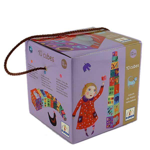 DJECO Кубики для малышей  Мои друзья