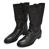 Высокие кожаные сапоги в Украине. Сравнить цены 0b89a02e10a8f