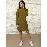 Женское вязаное платье в расцветках (0712/28)
