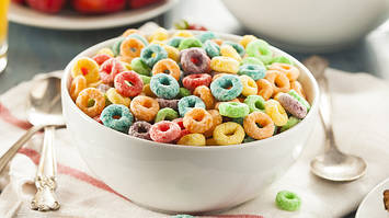 Сухие завтраки из США