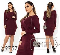 Платье батальное недорого интернет-магазин сайт женской одежды модна каста  р. 48-54 b9472cc85921a