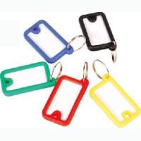Брелок-идентификатор для ключей синий