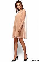 Женское платье-двойка с сеткой (Дастиkr), фото 3