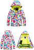"""Лыжный костюм """"Розовые разводы"""" - 4 варианта, для детей и подростков, фото 7"""