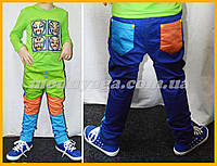 Штаны детские, яркие детские брюки