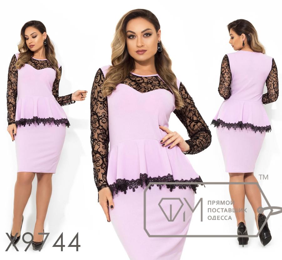 bbdce16cf38c Платье батальное недорого интернет-магазин сайт женской одежды модна каста  р. 48-54