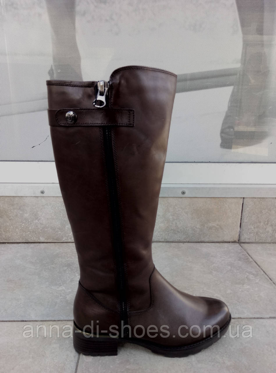 e77e36a7c Женские немецкие сапоги,коричневая кожа caprice , цена 4 400 грн ...
